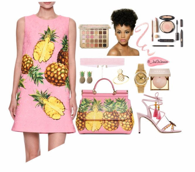 Dolce & Gabbana Pineapples - Polyvore.clipular.png